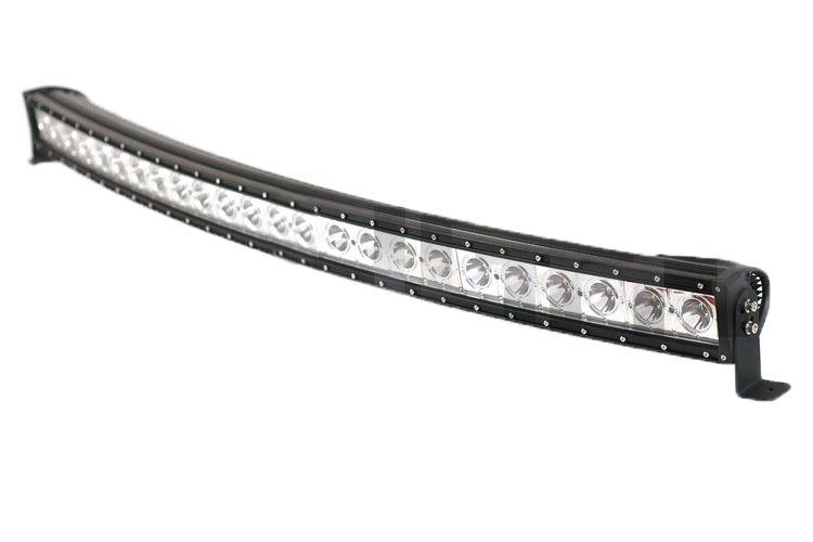 Straight/Curve 240w Single Row Led Light Bar For Wrangler