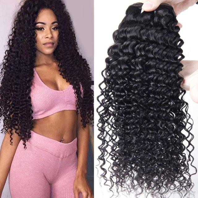 brazilian human hair curly weave 4 bundles brazilian virgin hair bundles brazilian deep wave kinky curly virgin human hair extensions
