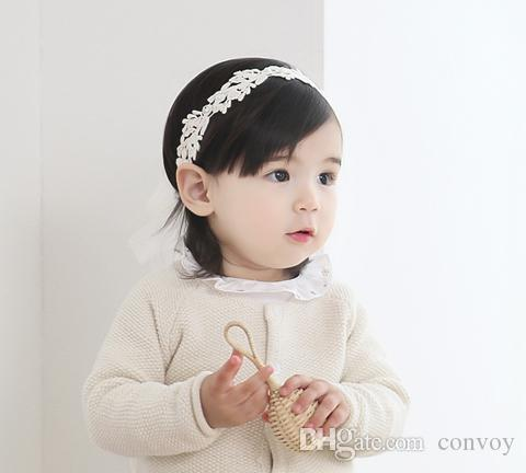 baby girls headbands korean