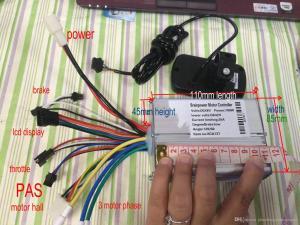 2019 BLDC Motor Controller & 36v 48v 24vLCD Display