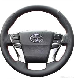 steering wheel cover case for toyota mark x reiz 2013 new model genuine leather diy hand stitch car styling canada 2019 from joeylau668 cad 39 89 dhgate  [ 1200 x 1200 Pixel ]
