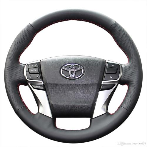 small resolution of steering wheel cover case for toyota mark x reiz 2013 new model genuine leather diy hand stitch car styling canada 2019 from joeylau668 cad 39 89 dhgate