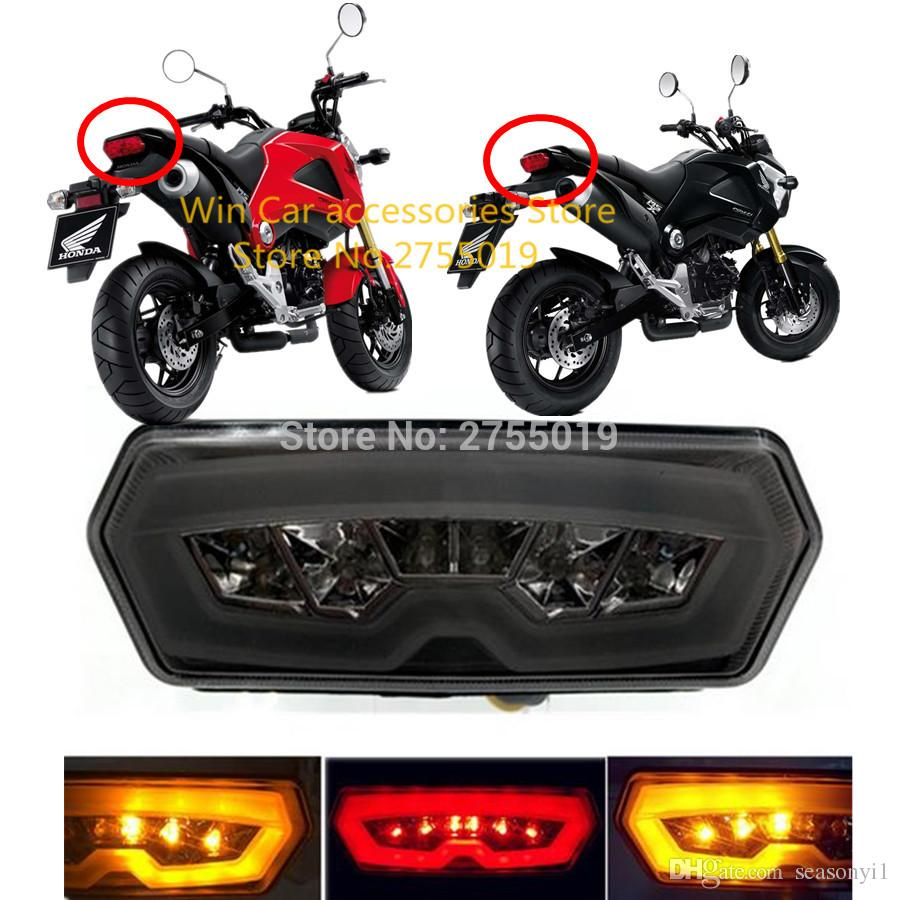 hight resolution of 2019 motorcycle rear tail light motocross led turn signal lamp stop brake flasher for honda motorcycle msx125 ctx700n cbr650f from seasonyi1