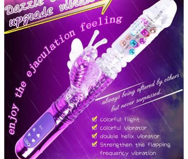 Thrusting Jack Rabbit Vibrator Butterfly Usb Rechargeable Rotating Thrusting Rabbit Vibrator Butterfly Clitoris Stimulator G Spot Dildo Top Rated Vibrators