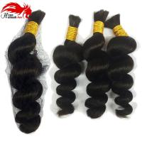 Human Braiding Hair Bulk Peruvian Virgin Hair Braiding