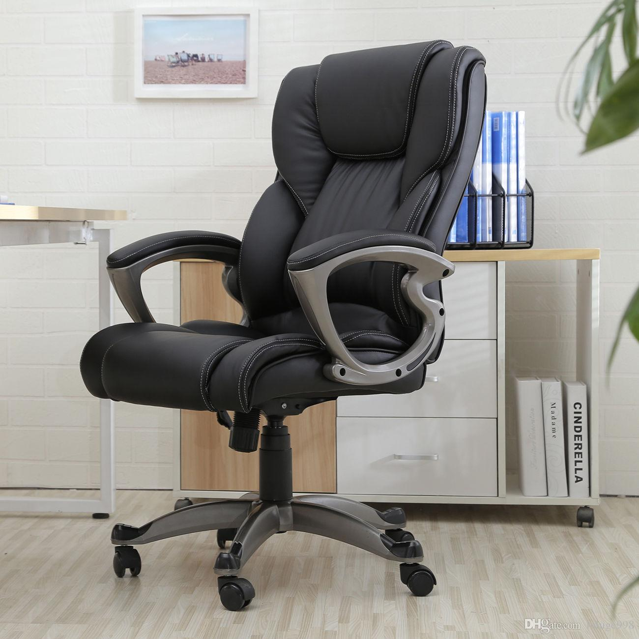 pu leather office chair west elm black high back executive task ergonomic computer desk online with 81 15 piece on luluge998 s store dhgate com