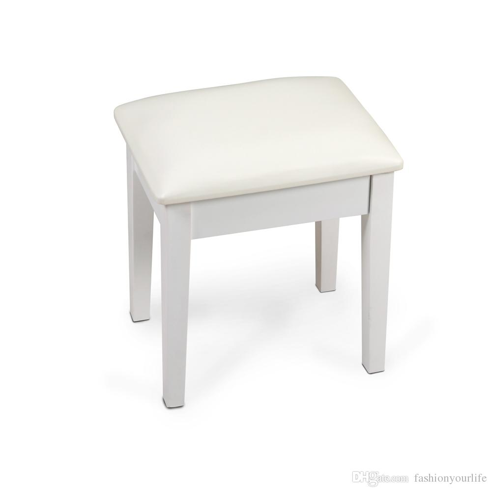 2019 Vanity Stool Dressing Stool With Cushion And Solid