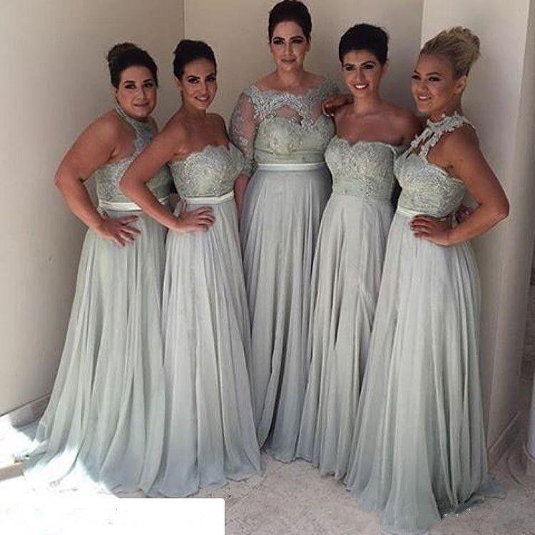 Bridesmaid Dresses Different Styles 2017 Plus Size Vintage ...