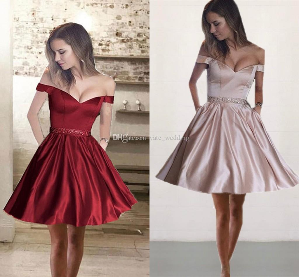 Simple In Short Red Prom Dresses Prom Dresses Dressesss