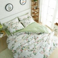 Winlife Rustic Floral Bedding Set 100% Cotton Duvet Cover ...