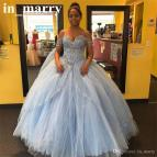 Off the Shoulder Princess Gown Quinceanera Dresses
