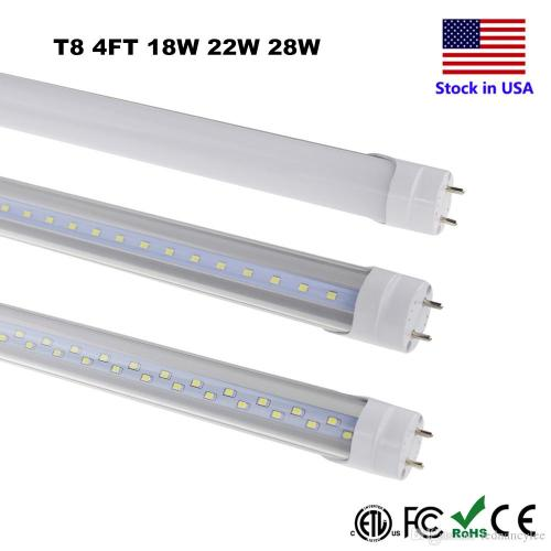 small resolution of t8 led tube lighting 4ft 4 foot 18w 22w 28w smd 2835 fluorescent 4ft fluorescent light fixture wiring