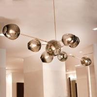 Modern Pendant Lights Bubble Molecular Glass Ball Pendant ...