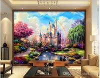 3d Room Wallpaper Custom Photo Mural Fairy Tale Castle ...