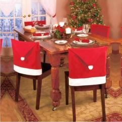 Chair Cover Christmas Decorations Hairpin Leg Decoration Covers Hotel Backrest Cushion Decor For Dining Leather Sofa Seat Slipcovers