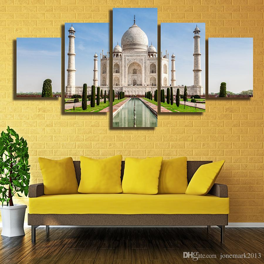 Best Collection Of Taj Mahal Wall Art | iltribuno.com