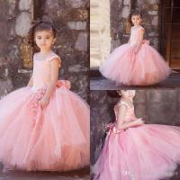 Puffy Flower Girl Dresses 2017 Tulle Girls Prom Party ...