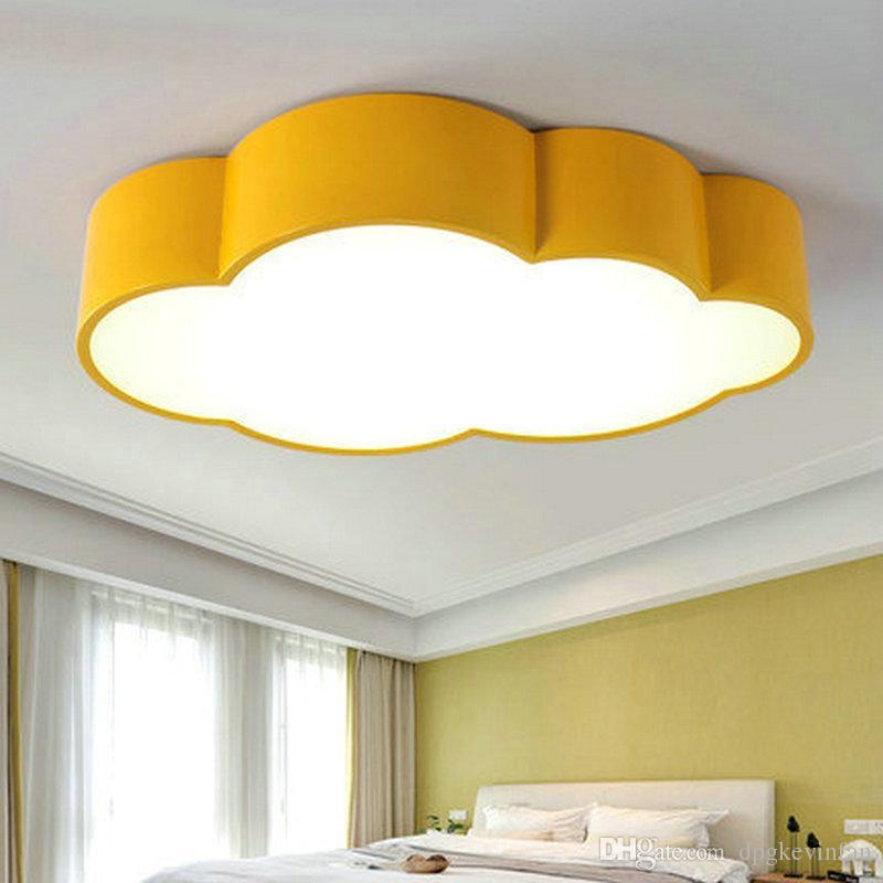 2018 Led Cloud Kids Room Lighting Children Ceiling Lamp