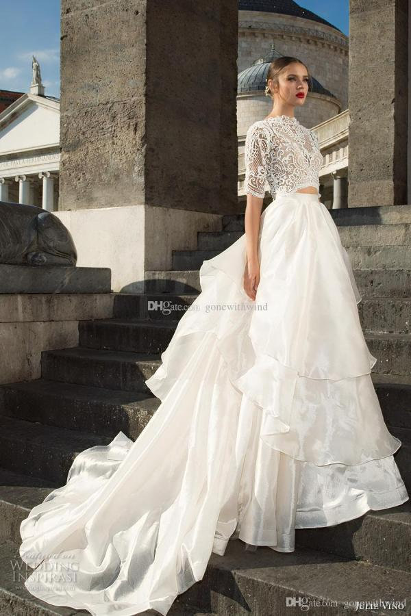Royal Train Ball Gown Wedding Dresses 2017 Julie Vino