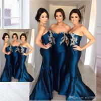 Strapless Mermaid Bridesmaid Dress _Bridesmaid Dresses ...