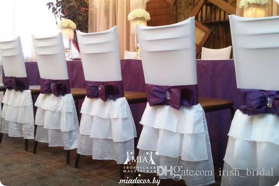 gold chair covers with black sash computer desk 2018 spandex 2016 white bow vintage sashes romantic beautiful cheap custom ...