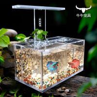 2018 Acrylic Fish Tank Water Free Isolation Box Office ...