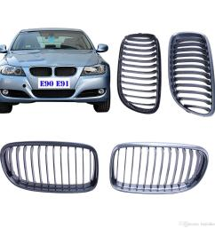 2019 for bmw e90 lci 2009 2010 2011 carbon fiber look front grill kidney grilles lattice for 3 series 328i 325i 323i m sport p294 from buyinhouse  [ 1300 x 1300 Pixel ]