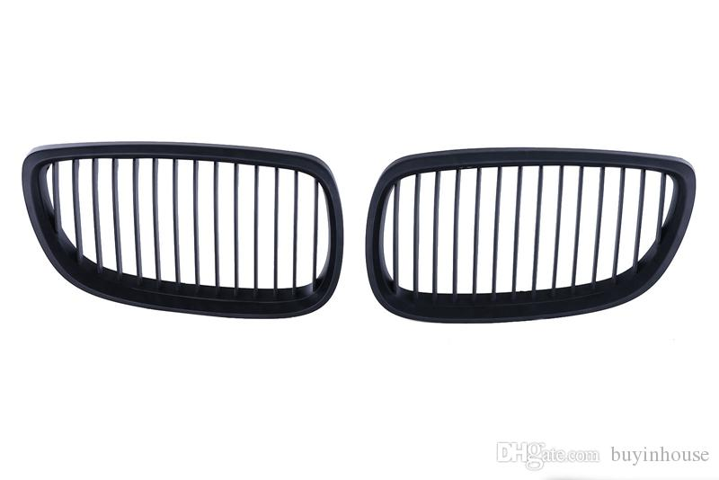 2019 2x Matte Black Kidney Grill Front Grilles For BMW E92