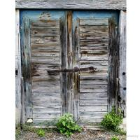 2018 Old Wooden Door Photography Backdrops Vintage Country ...