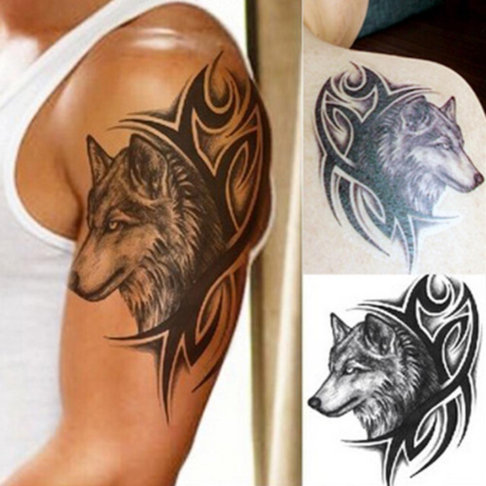 Moda Transferencia De Agua Falso Tatuaje Del Cuerpo A Prueba De Agua