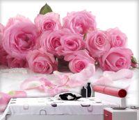 Luxury European Modern Pink Aesthetic Rose Bedroom ...