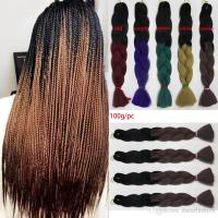 Purple EXPRESSION BRAIDING HAIR Senegalese Twist AFRICAN ...