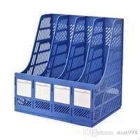 2018 Magazine File Holder Organizer Box Plastic File ...