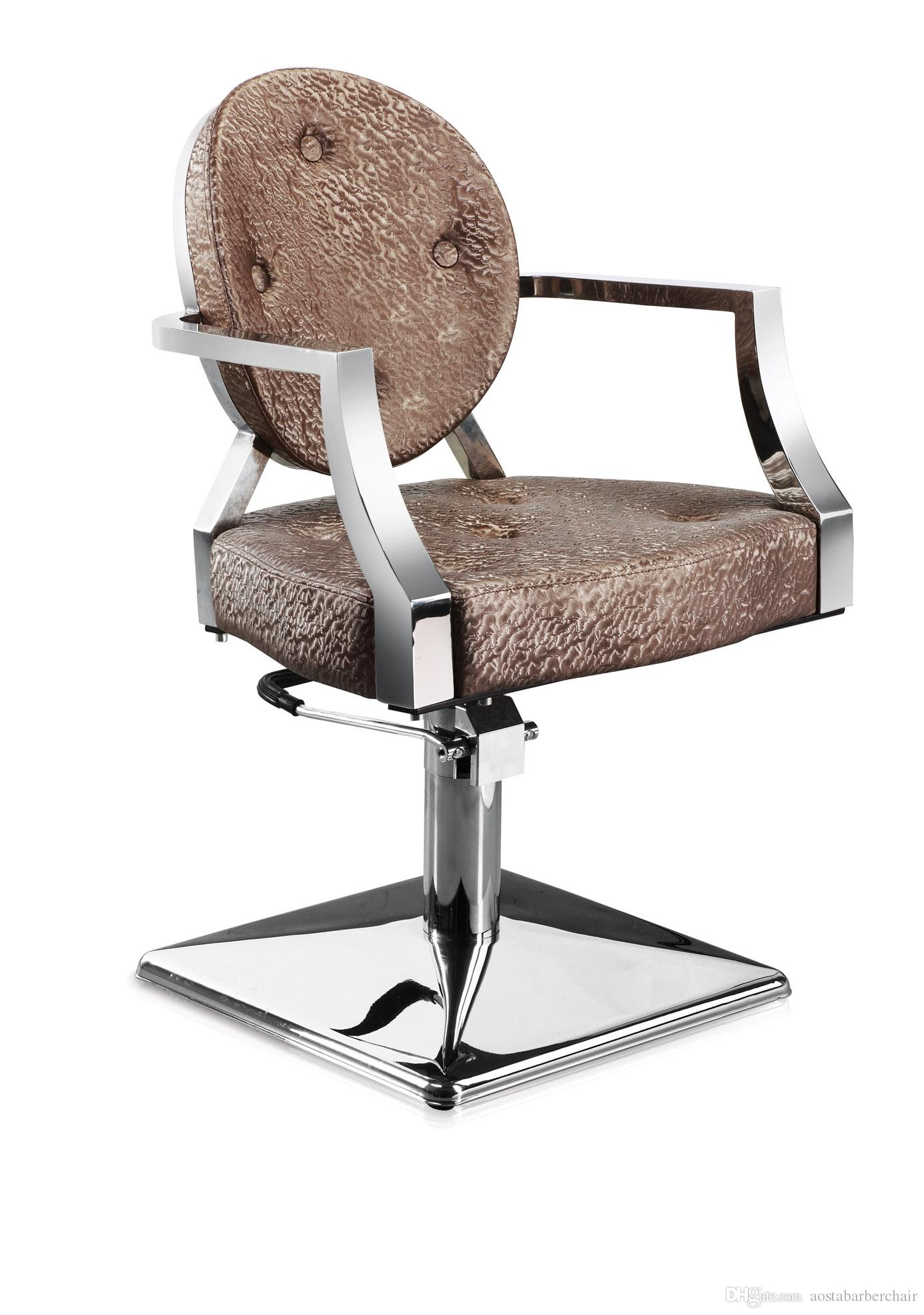pink salon styling chair target zero gravity lounge chairs antique furniture
