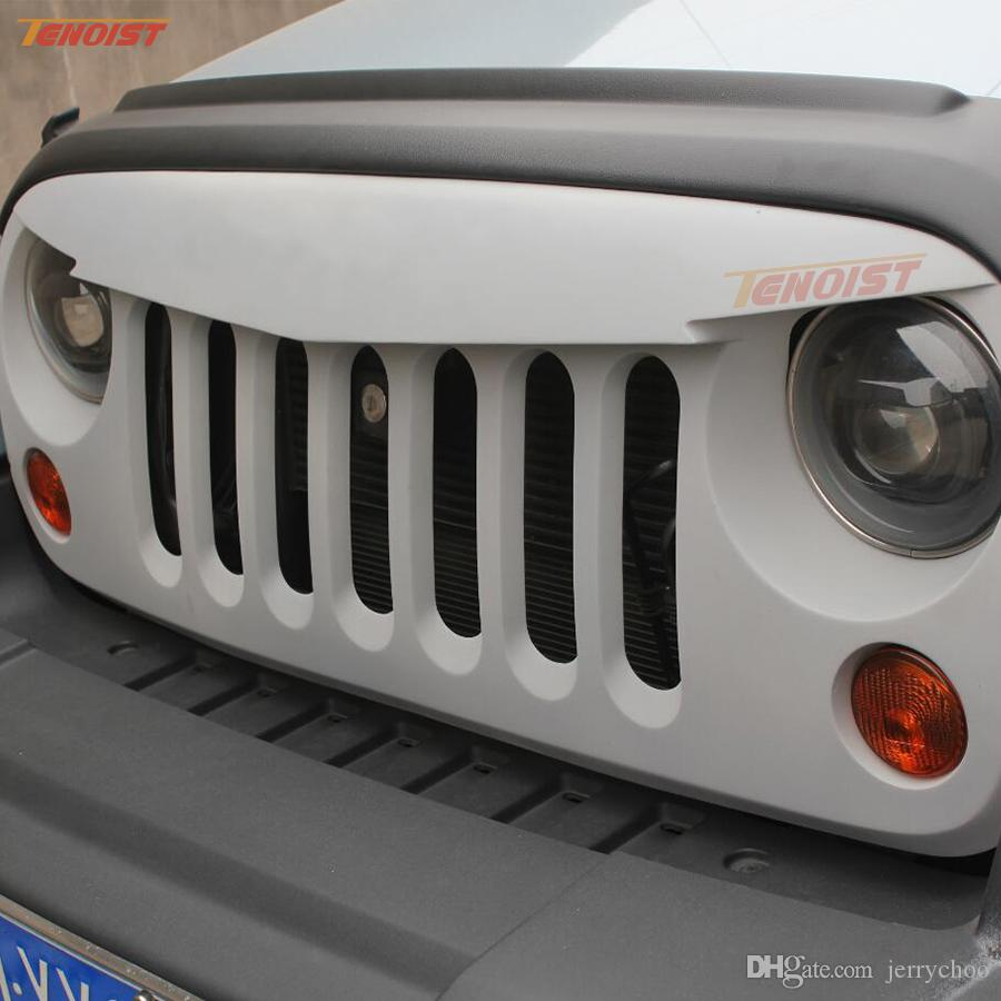 medium resolution of 2019 high quality abs front racing grilles for jeep wrangler jk 2007 2015 from jerrychoo 121 38 dhgate com