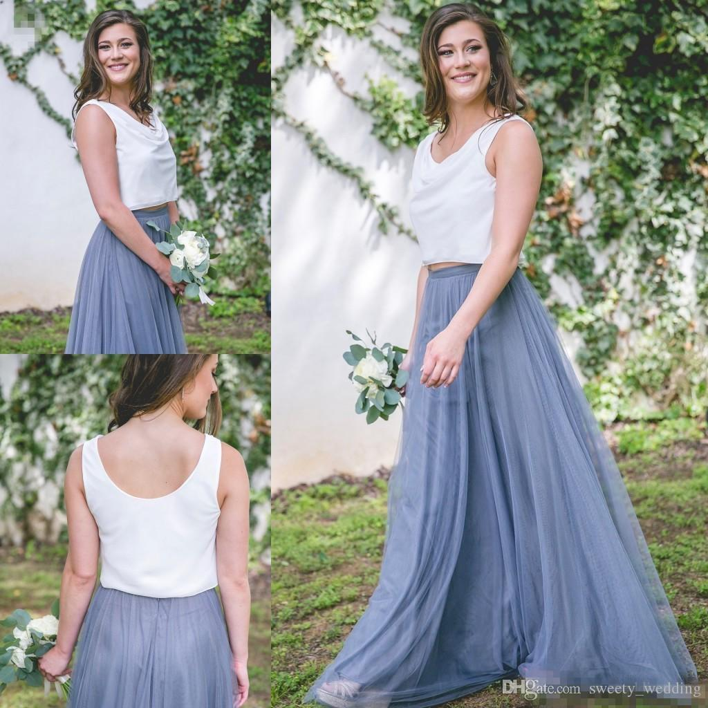Grohandel 2017 New Cheap Tll Brautjungfer Kleid Frauen