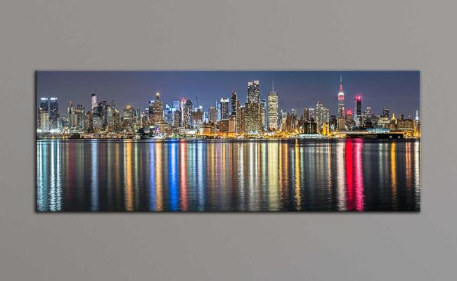 2019 Unframe New York City Canvas Painting Panoramic Home