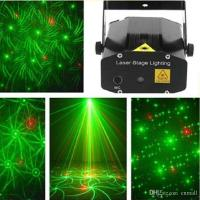 Mini Laser Stage Lighting 24 Styles 6 In 1 Stage Light ...