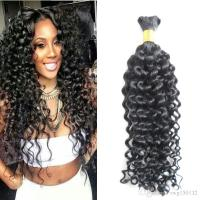 Human Braiding Hair Bulk Curly 100g No Weft Human Hair ...