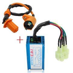 139qmb Wiring Diagram Single Phase Reversing Contactor 2018 Performance 6 Pin Ac Racing Cdi Box Ignition Coil For Gy6 50cc 125cc 150cc 152qmi ...