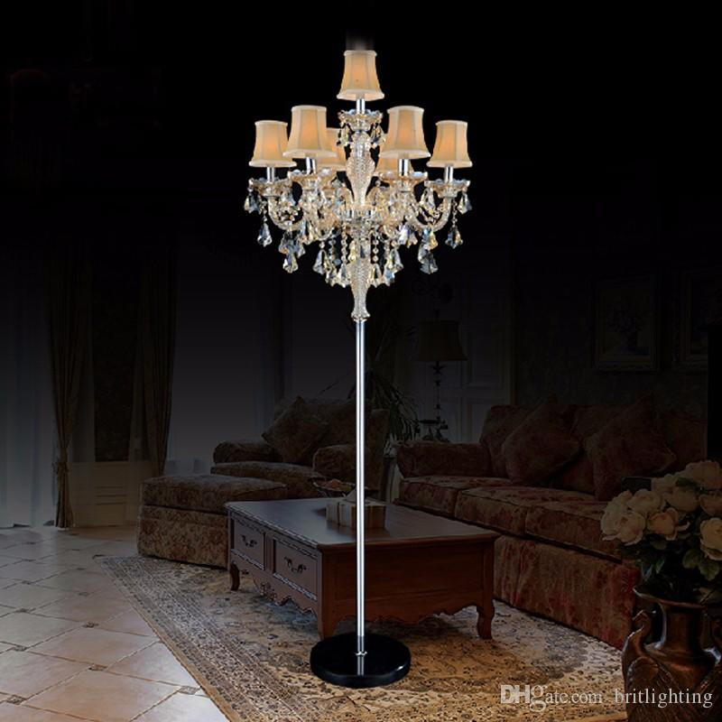 light stand for living room lcd tv wall unit design ideas 2019 indoor lights crystal floor lamp modern lamps bedroom led industrial background hotel from