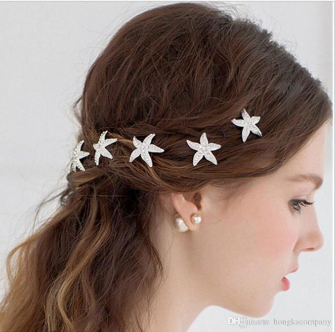 pearl women hair combs wedding hair accessories hair pin rhinestone tiara bridal clips crystal crown bride jewelry