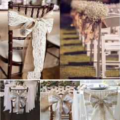 Burlap Chair Covers For Sale Adirondack Chairs 240 X 15cm Lace Bowknot Sashes Natural Hessian Jute Linen Rustic Cover Tie Wedding Decor Diy Crafts Gold Belt