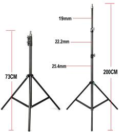 2019 fotopal 2m light stand tripod with 1 4 screw head bearing weight 5kg for studio softbox flash umbrellas reflector lighting from xiaolei009  [ 1500 x 1500 Pixel ]