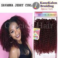 2019 2017 New Hairstyles Kanekalon Braid Jerry Curl Braids ...
