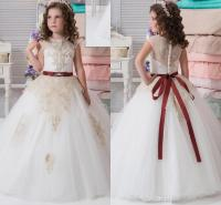 Lace Arabic 2017 New Flower Girl Dresses Cheap Vintage ...