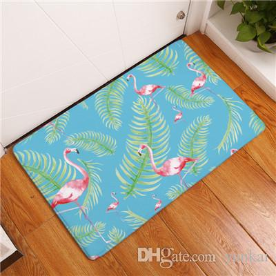 kitchen carpets cabinets columbus 2017 new home decor flamingo non slip rugs for living room floor mats 40x60 50x80cm vinyl carpet plush tiles from yankai