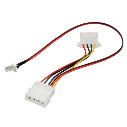 small resolution of wholesale new arrival 3 pins to 4 pins ide power connector cable extension cord adapter for pc cpu fan computer cables connectors computer power cables