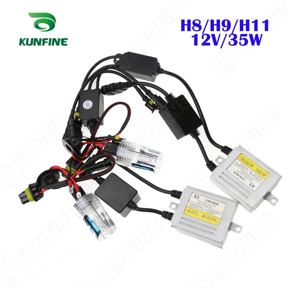 medium resolution of 12v 35w x3 canbus hid conversion xenon kit h8 h9 h11 xenon bulb car hid headlight conversion kit diagram also xenon hid headlight ballast