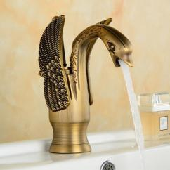 Antique Kitchen Faucets Aid Colors Wholesale Faucet Gold Brass Basin Hot And Cheap Swivel Sprayer Best Luxury